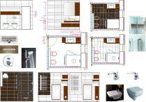 návrh koupelna-Jablonec n.N