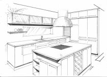 návrh kuchyně-Praha