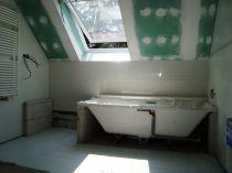 koupelna před dokončením