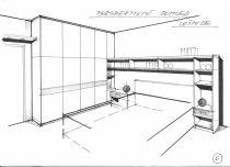 návrh ložnice Praha